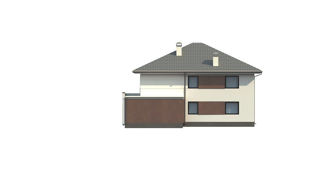 Элегантный комфортабельный двухэтажный дом с современными элементами архитектуры. - фото 5