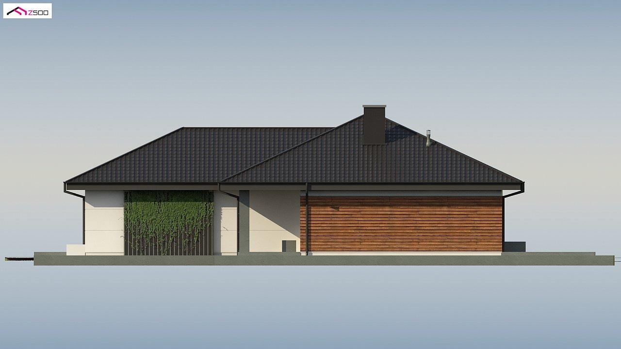 Проект комфортного и функционального одноэтажного дома. - фото 14