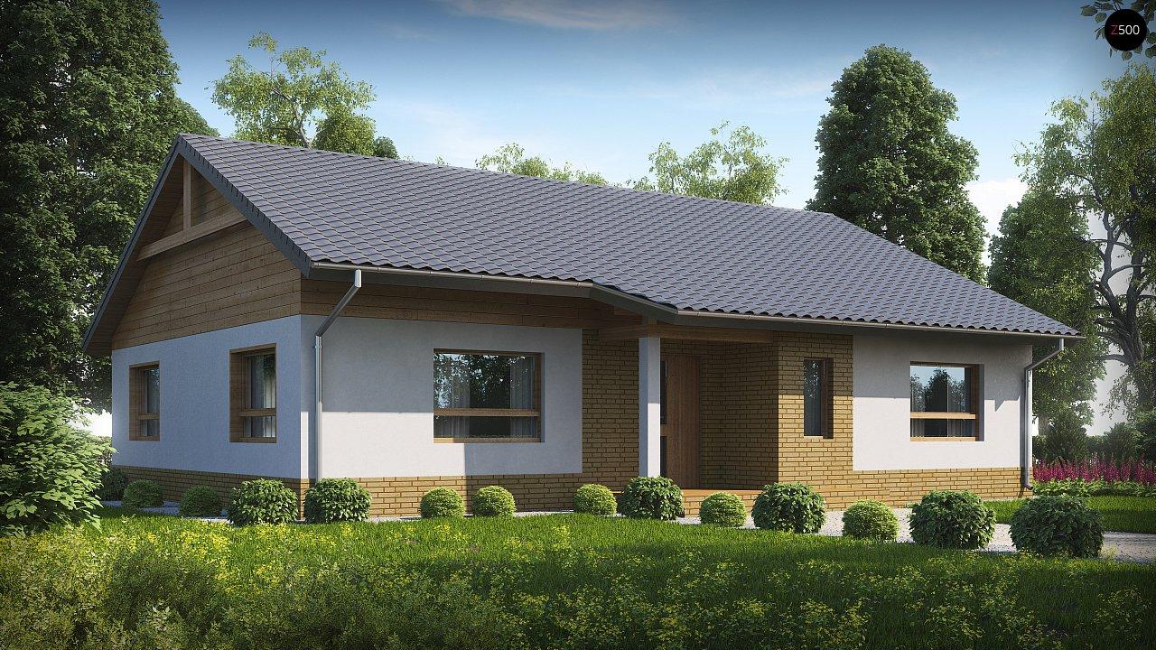Версия увеличеного одноэтажного дома Z41 - фото 1