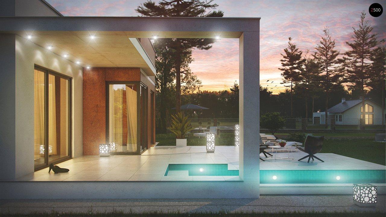 Комфортный современный дом со светлым и уютным интерьером. 4