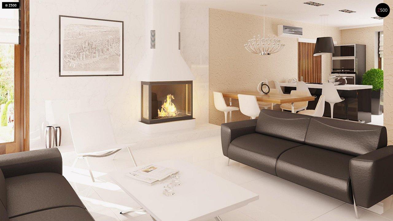 Одноэтажный дом традиционного характера с тремя удобными спальнями и встроенным гаражом. - фото 5