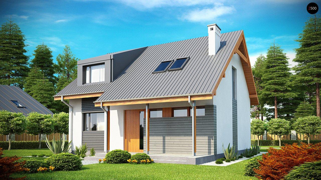 Проект небольшого практичного дома, выгодного в строительстве и эксплуатации. - фото 2