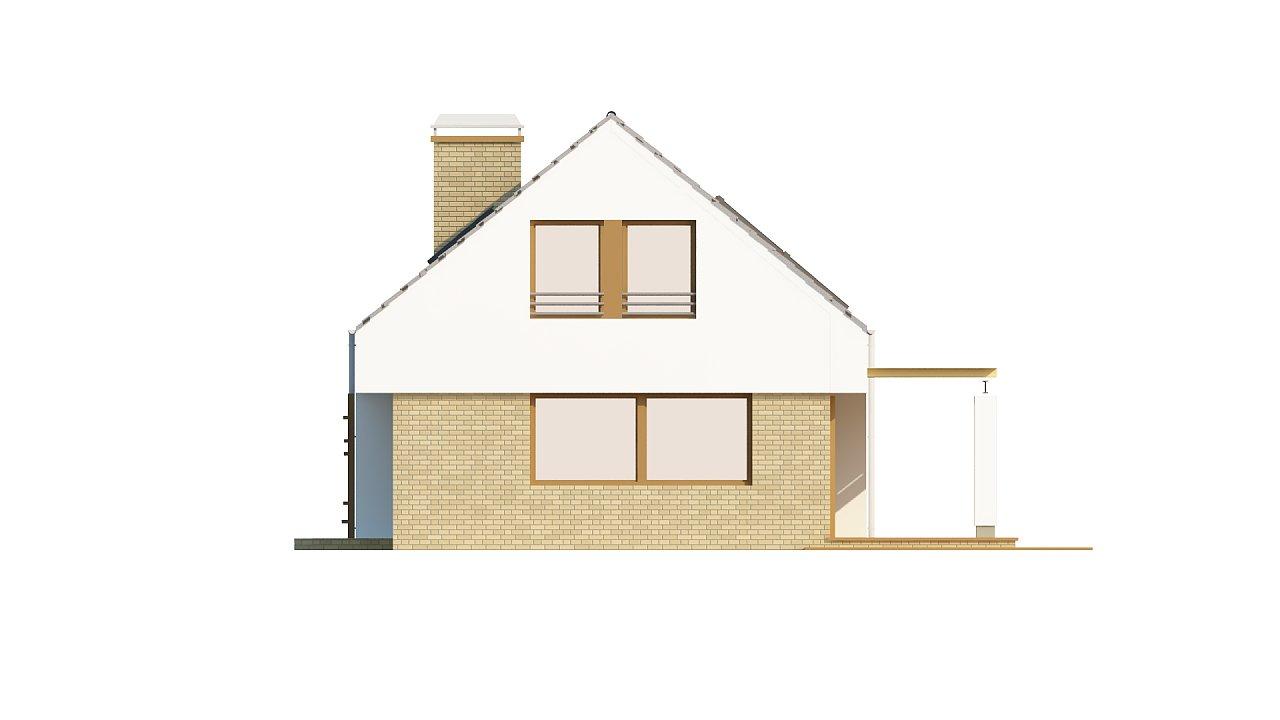 Компактный стильный дом простой формы с большой площадью остекления в дневной зоне. - фото 5