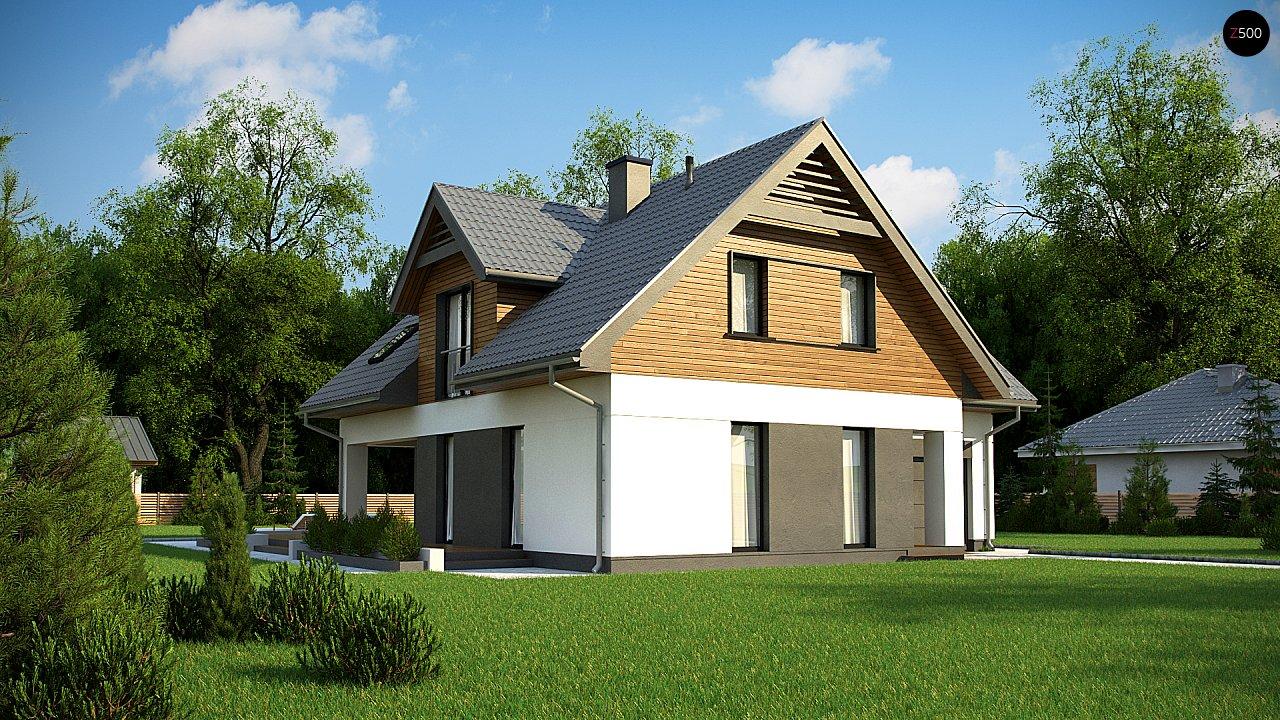 Современный жилой дом с гаражом - фото 1
