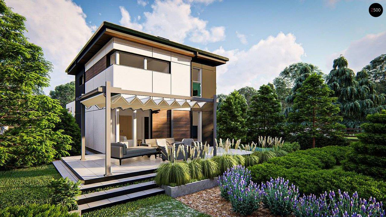 Современный проект дома с 3 спальнями 2