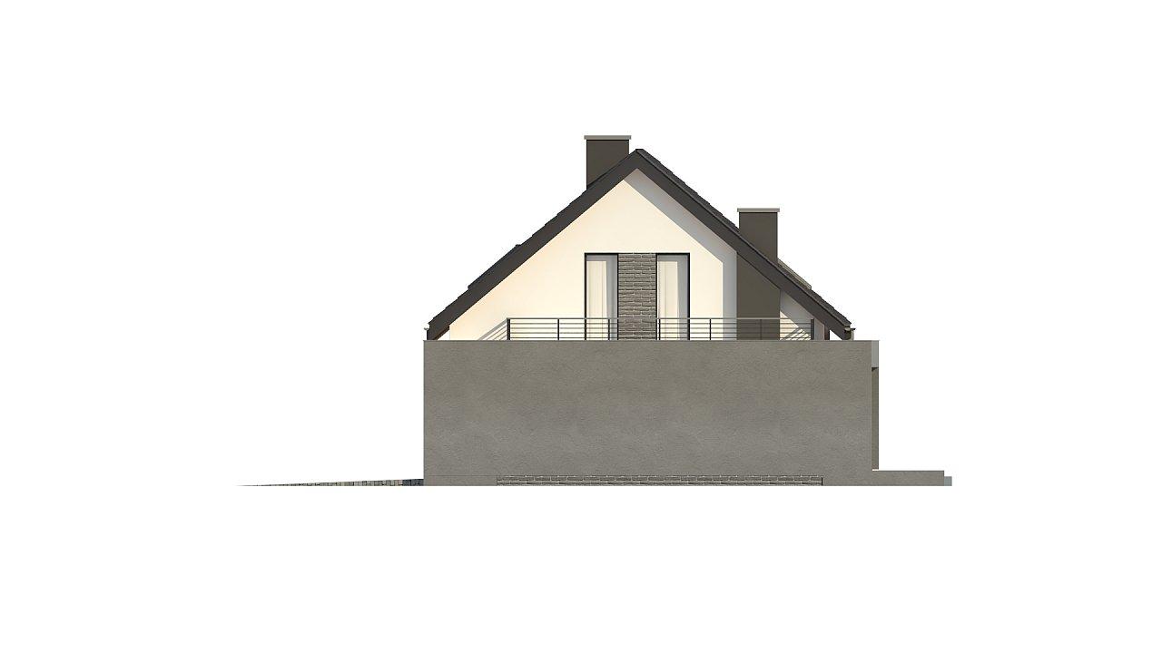 Проект комфортного дома в современном европейском стиле. - фото 11