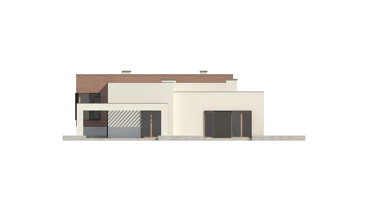 Современный дом минималистичного дизайна с подвалом - фото 12