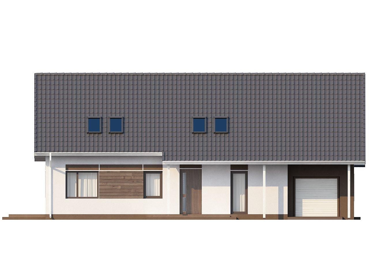 Комфортабельный дом со встроенным гаражом, угловой террасой и кабинетом на первом этаже. - фото 3