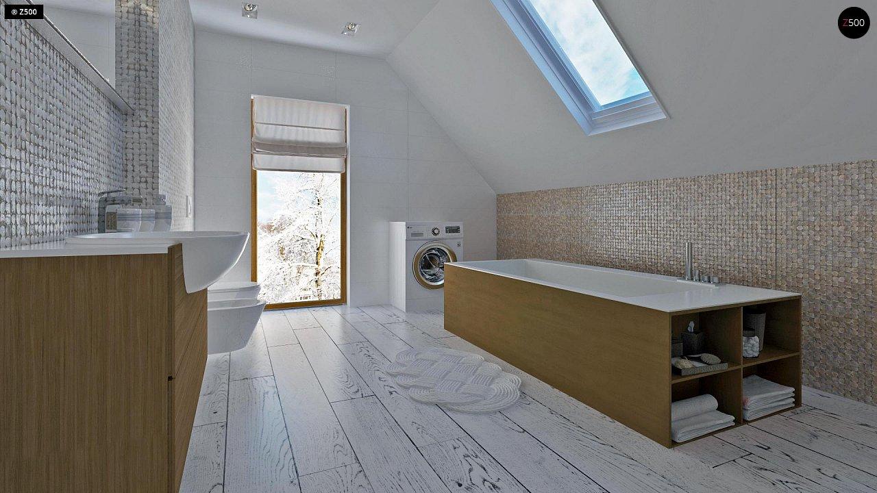 Практичный и уютный дом, идеально подходящий для вытянутого участка. 11