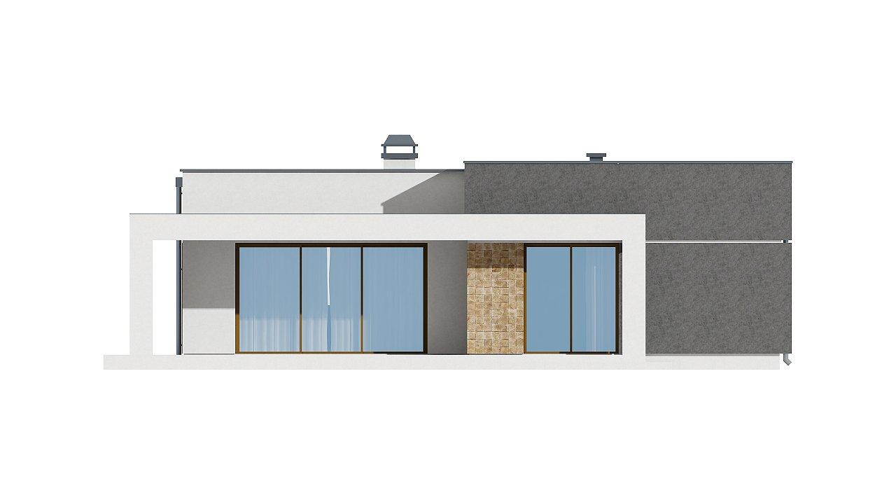 Небольшой дом из газобетона в стиле хай-тек — элегантный, практичный и экономичный. - фото 23