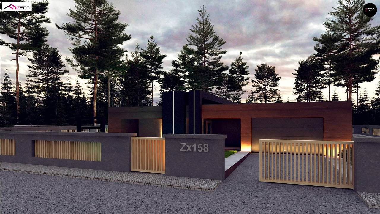Современный дом с одноуровневой планировкой для большой семьи. - фото 7