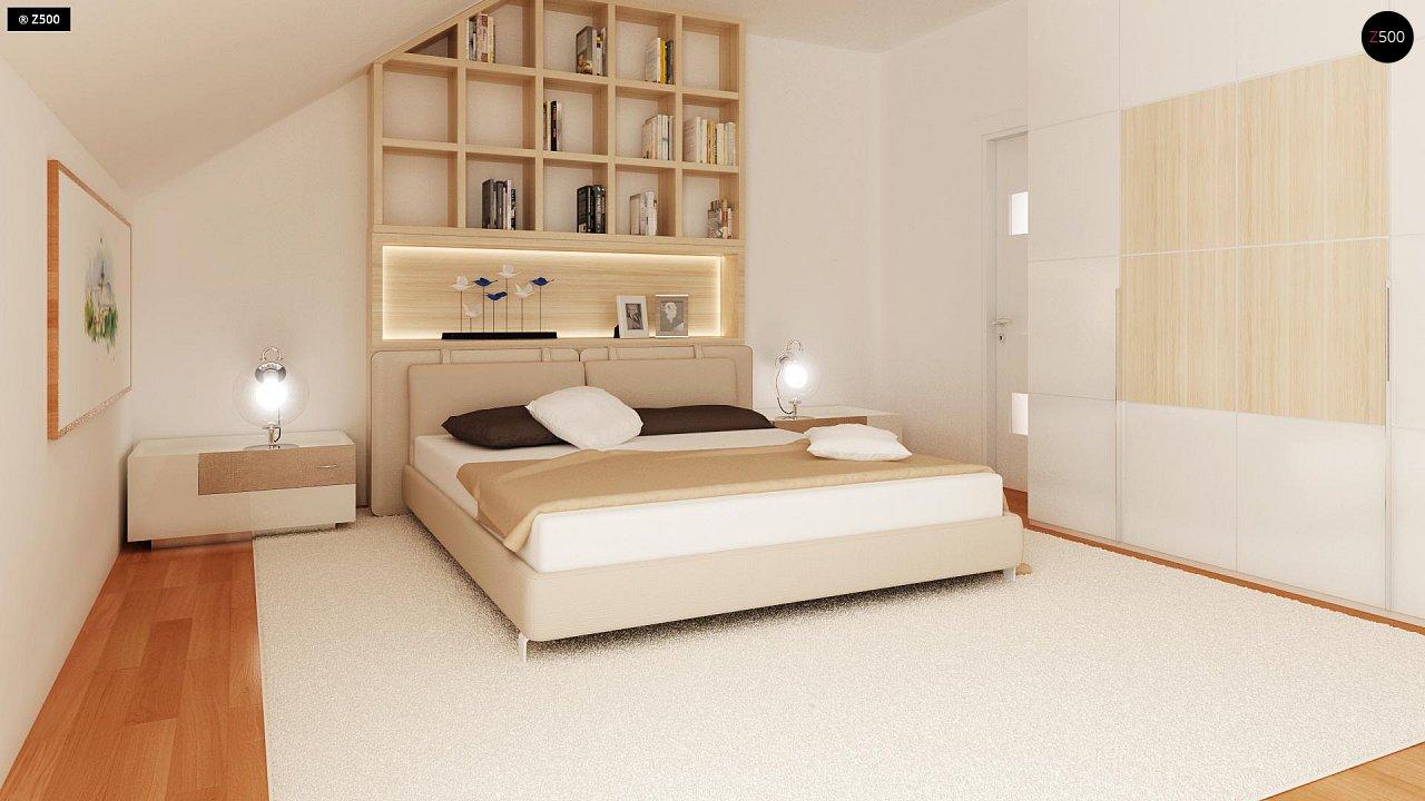 Проект стильного, функционального и недорогого двухсемейного дома. 14