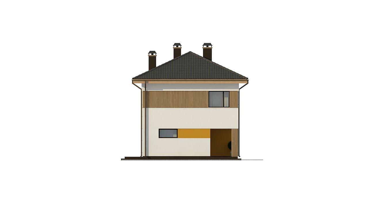 Компактный проект двухэтажного дома 6