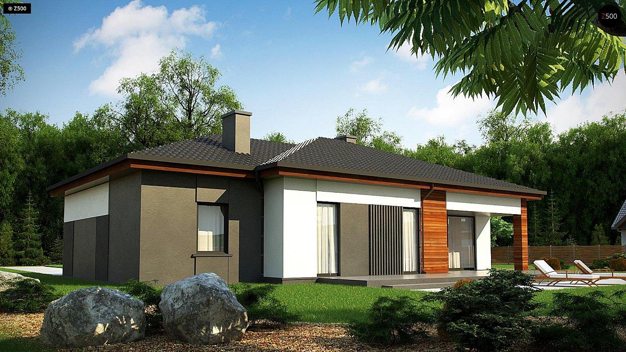 Удобный одноэтажный дом небольшой площади 4