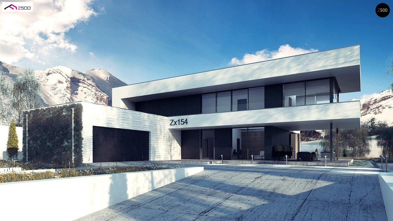 Просторный современный двухэтажный дом 1