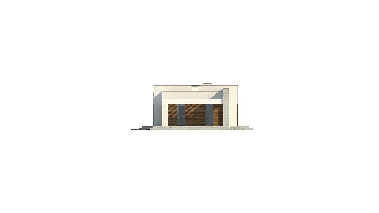 Комфортный одноэтажный дом для узкого участка. 8