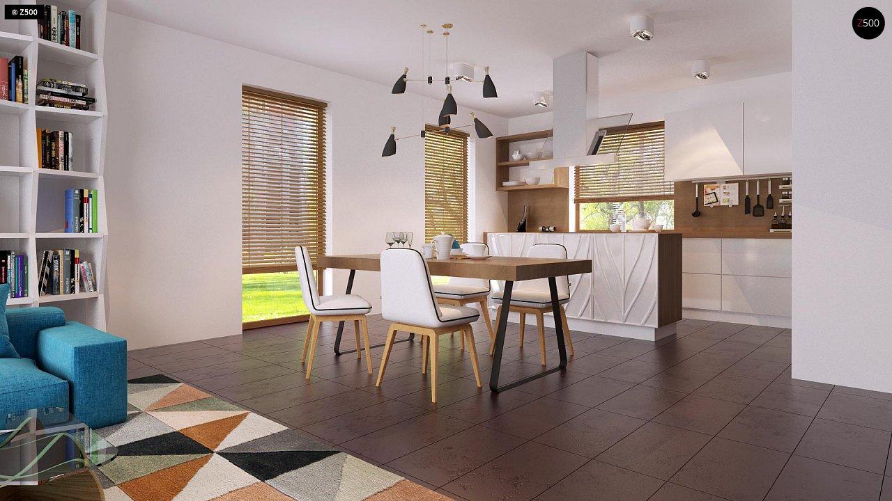 Одноэтажный дом исключительного современного дизайна. - фото 19