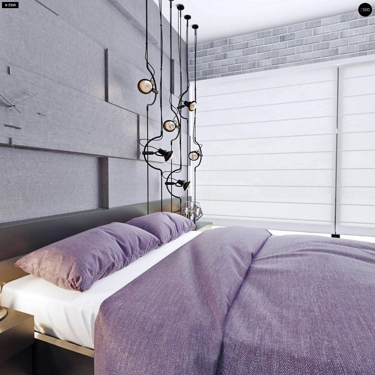 Проект функциональный двухэтажный дом с 4 спальнями и подвалом. - фото 26