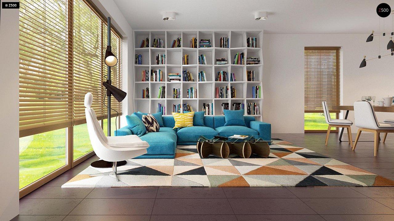 Одноэтажный дом исключительного современного дизайна. 17