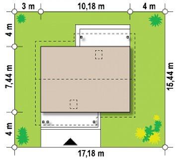 Вариант проекта Z210 с увеличенной площадью котельной. план помещений 1