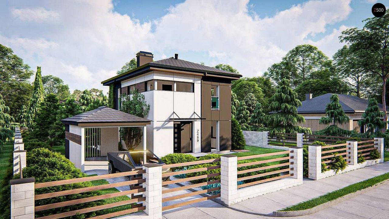 Современный проект дома с 3 спальнями 8