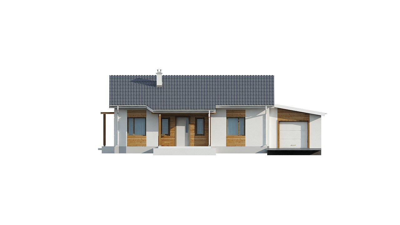 Версия проекта Z136 с гаражом. 16