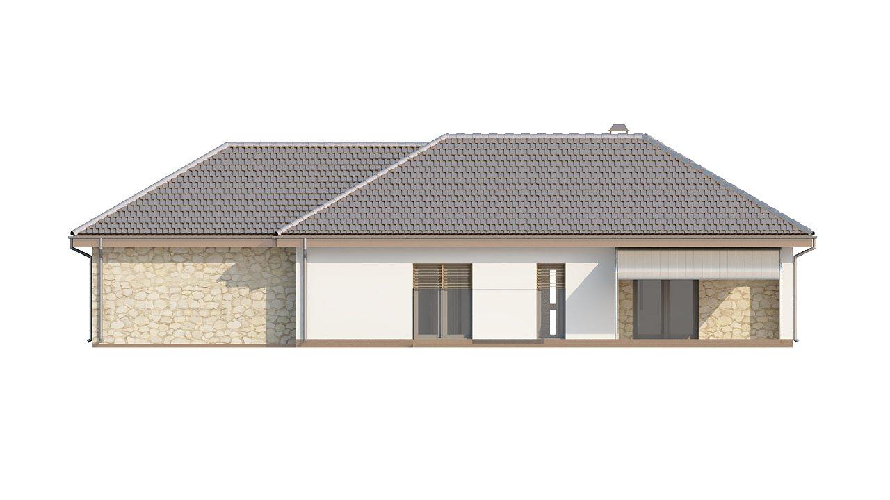 Функциональный удобный дом с гаражом на два автомобиля и большим хозяйственным помещением. - фото 6