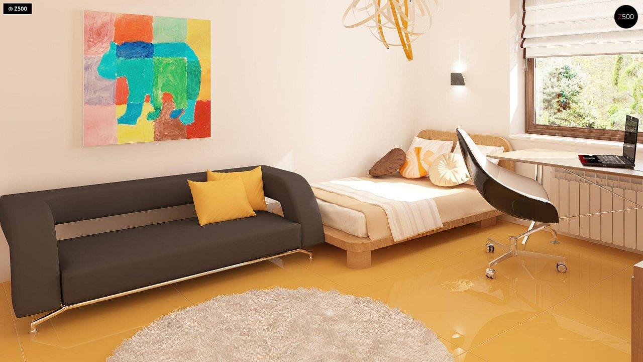 Одноэтажный дом традиционного характера с тремя удобными спальнями и встроенным гаражом. - фото 11