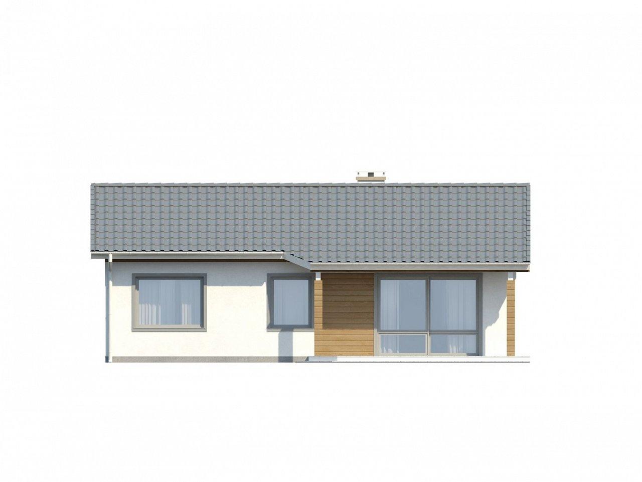 Функциональный и практичный проект дома Z7 в каркасном исполнении - фото 22