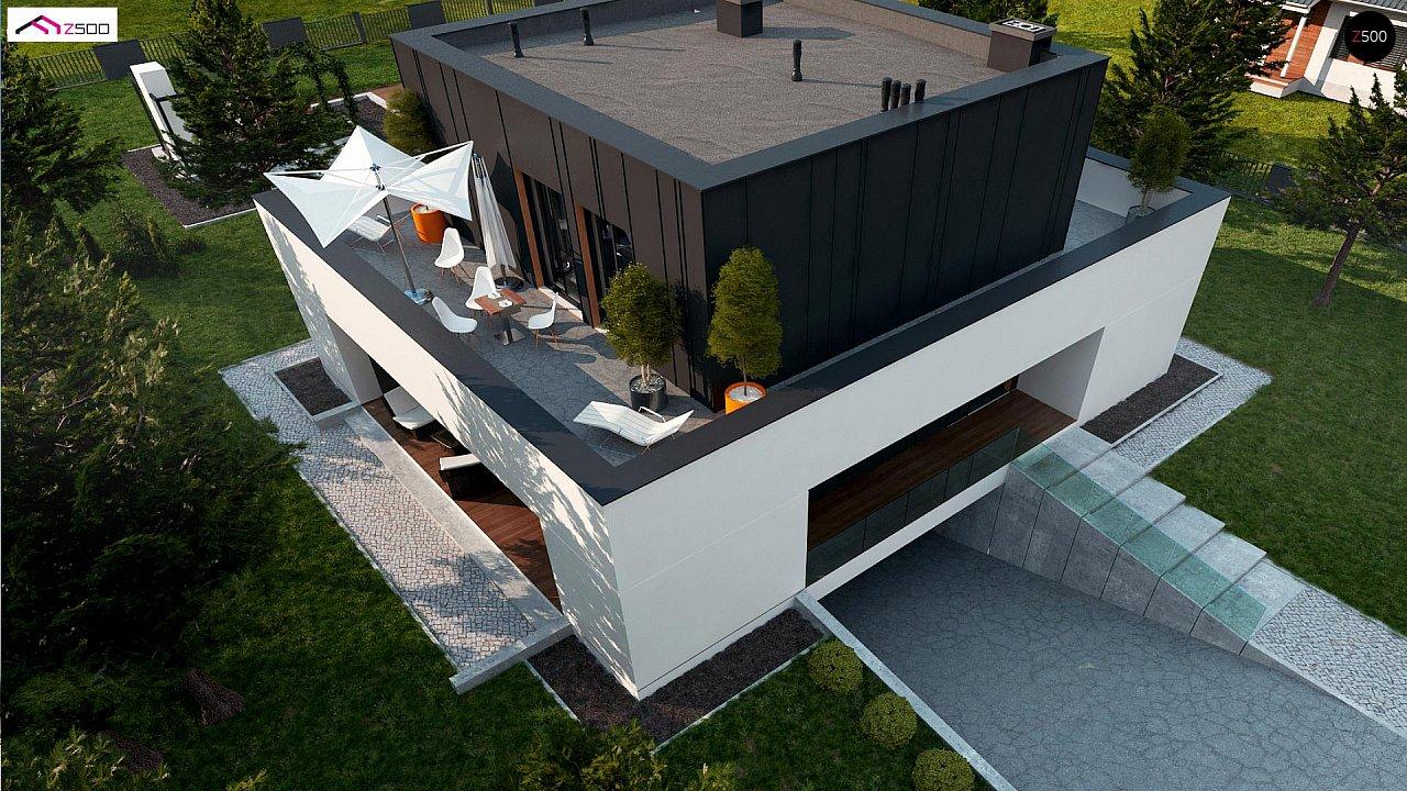 Дом в современном стиле с подвалом 2