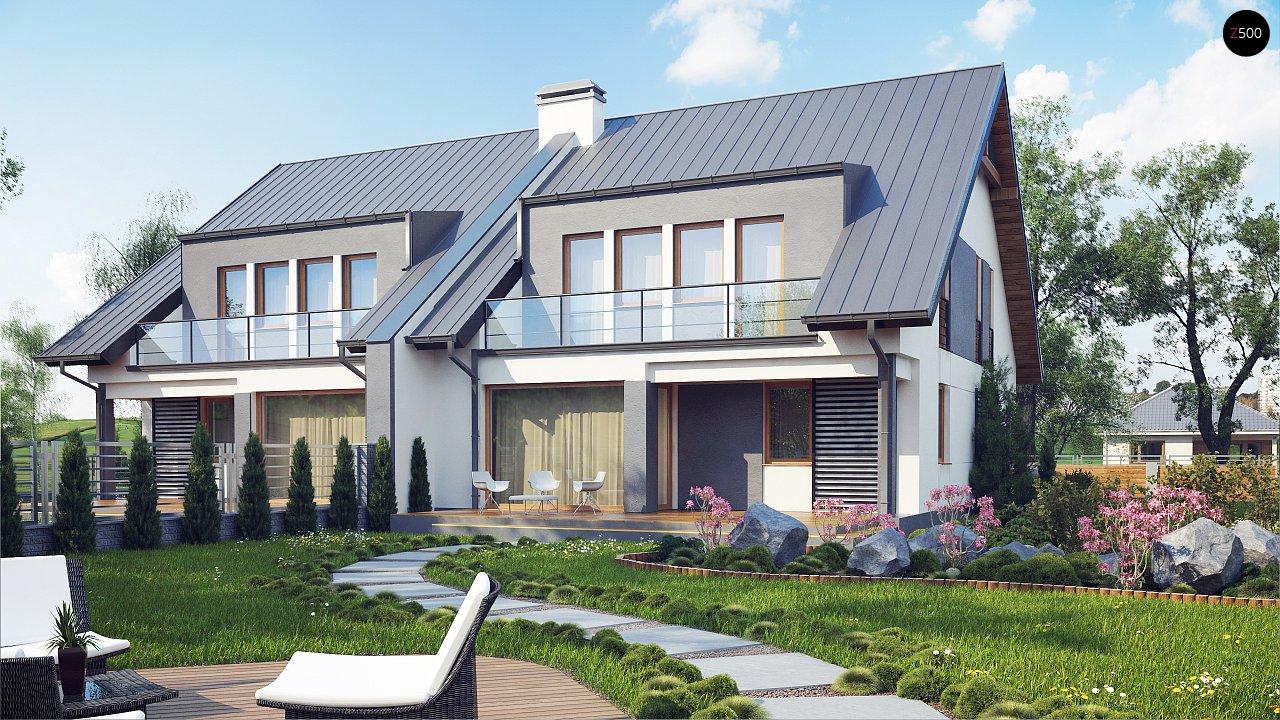 Проект домов близнецов для двух дружественных семей. - фото 2