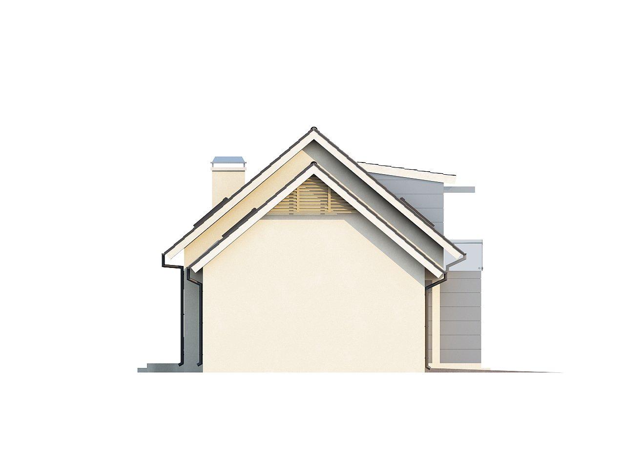 Традиционный практичный дом с современными элементами архитектуры. 10