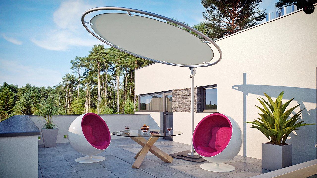 Комфортабельный особняк в стиле модерн элегантного дизайна. 6