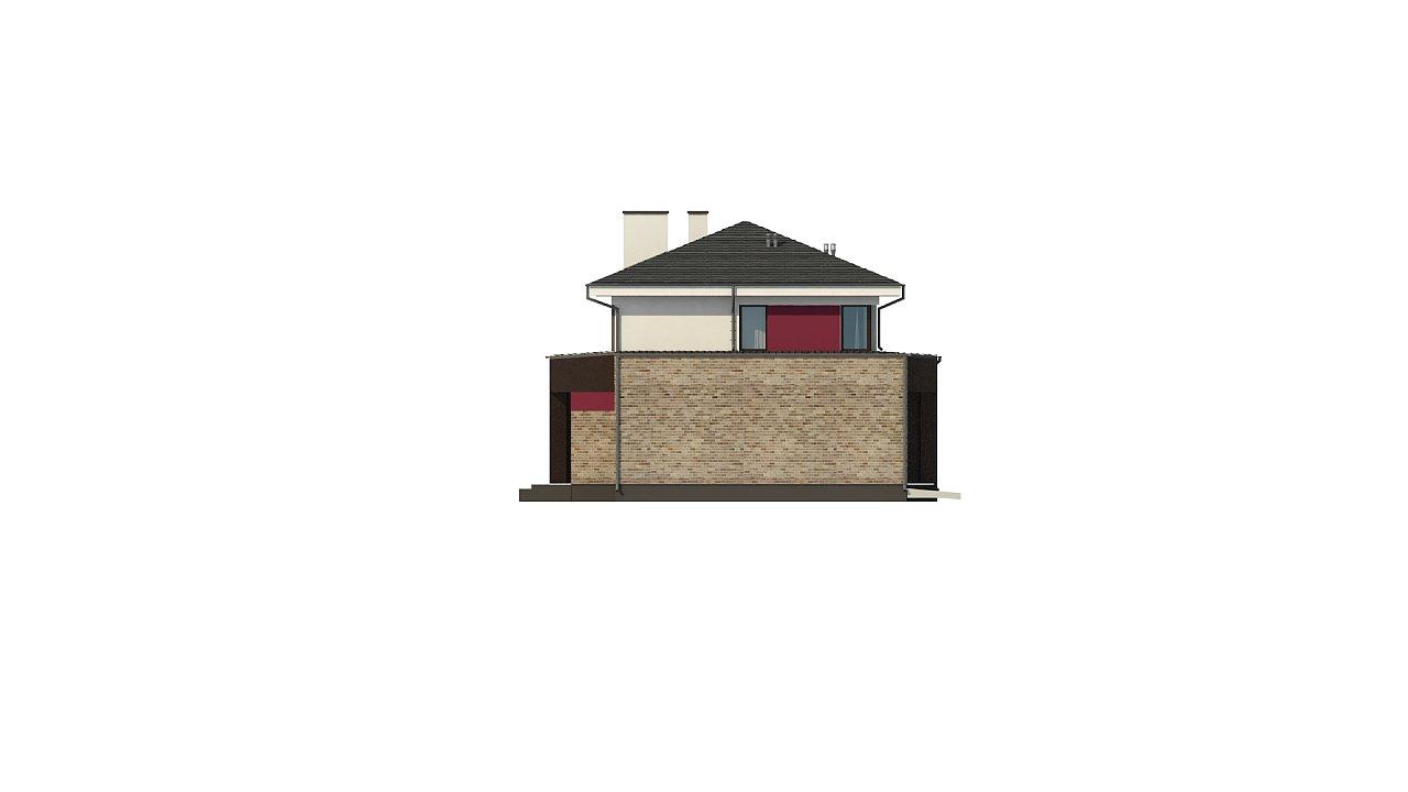 Двухэтажный дом с просторной гостиной, с сауной на первом этаже. 12