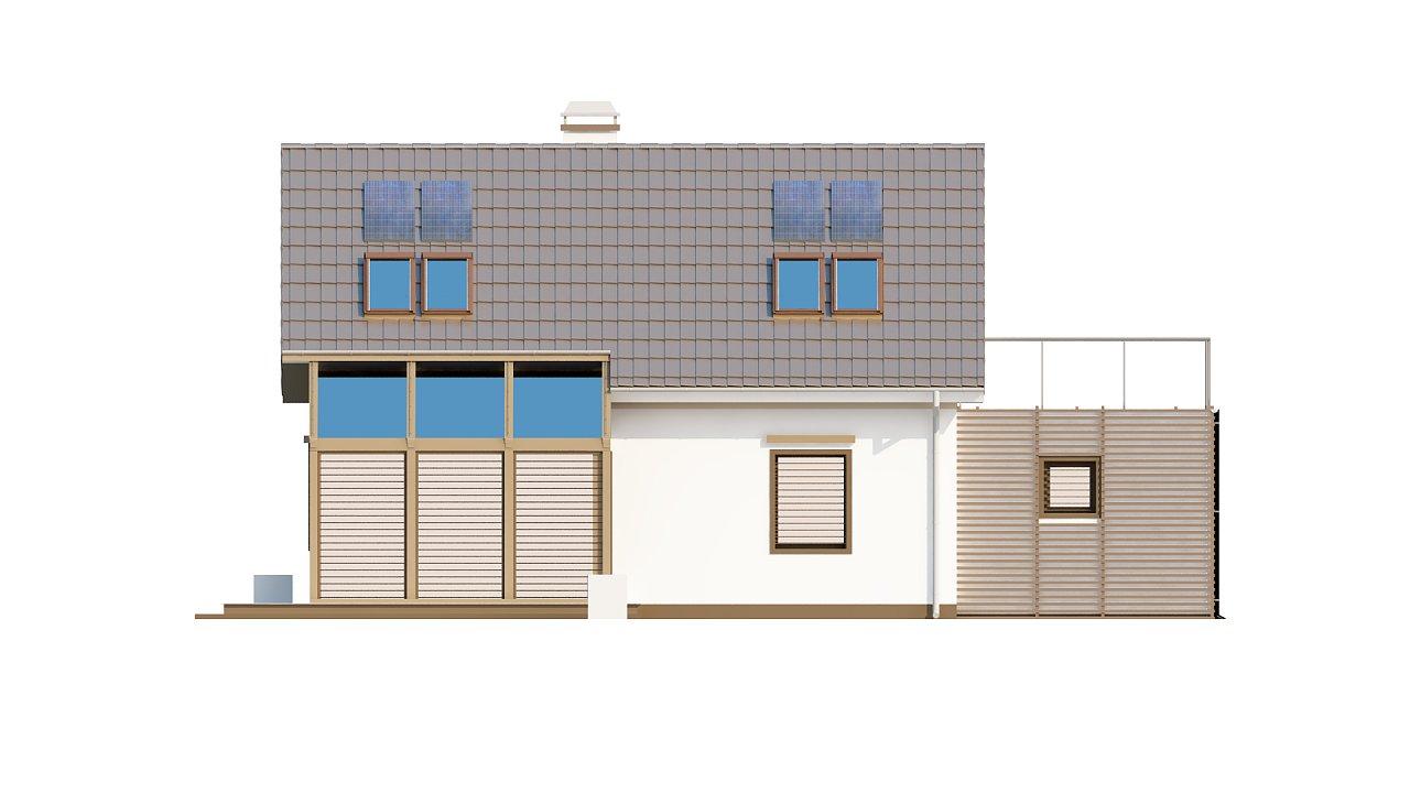 Уютный дом с террасой над гаражом, с возможностью обустройства зимнего сада. - фото 36