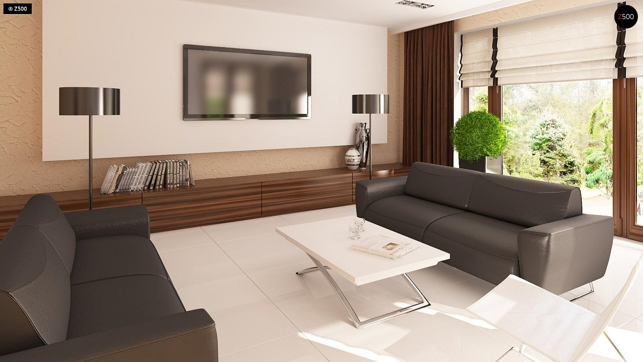 Одноэтажный дом традиционного характера с тремя удобными спальнями и встроенным гаражом. - фото 4