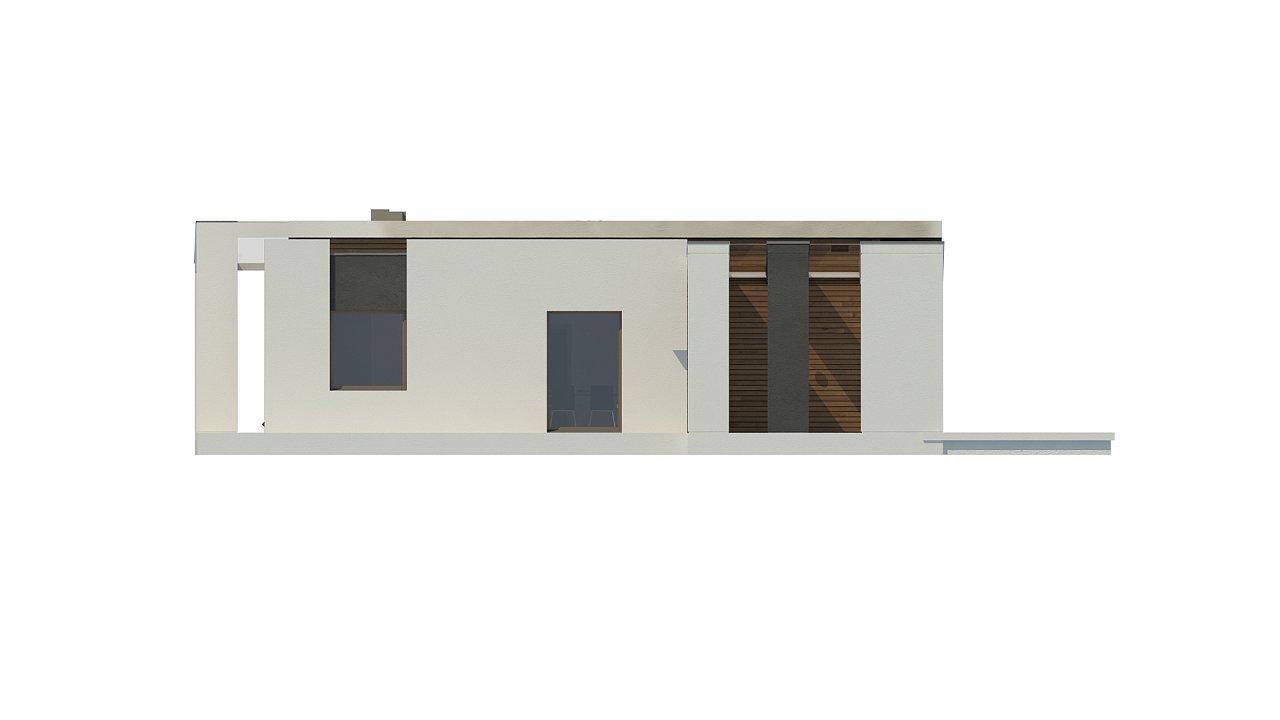 Проект современного дома в стиле хай-тек с двумя спальнями. - фото 20