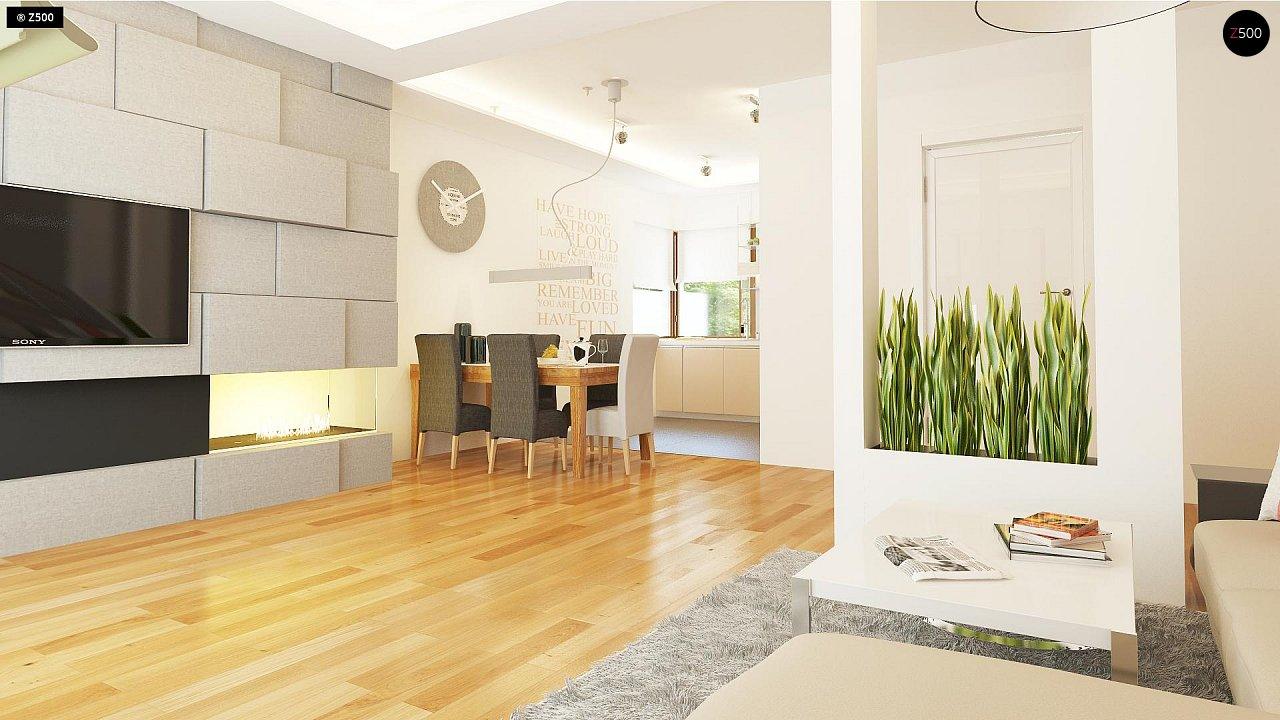 Компактный односемейный дом с дополнительной спальней на первом этаже. 6
