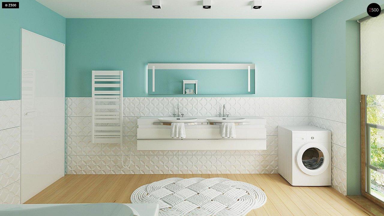 Новый вариант проекта Z38 - уютного двухэтажного дома. 10