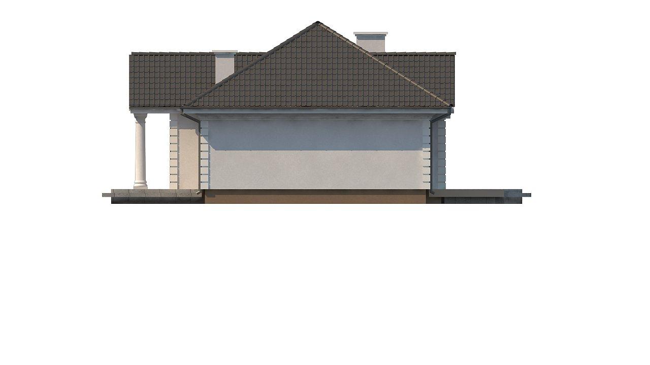 Зеркальный вариант увеличенного дома Z2 - фото 15