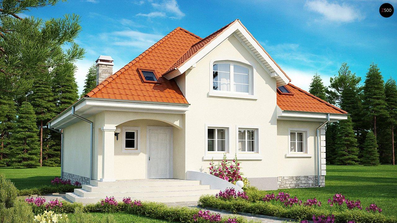 Элегантный классический дом с изящными мансардными окнами и балконами. - фото 2