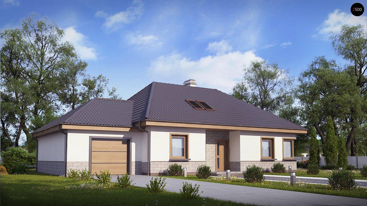 Современный дом с гаражом 1