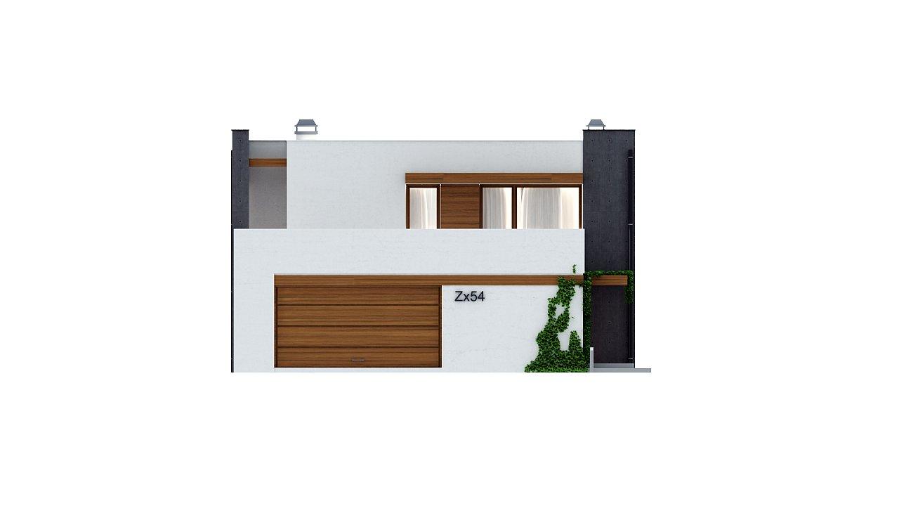 Комфортный современный дом с гаражом для двух авто и обширной террасой на втором этаже. - фото 21