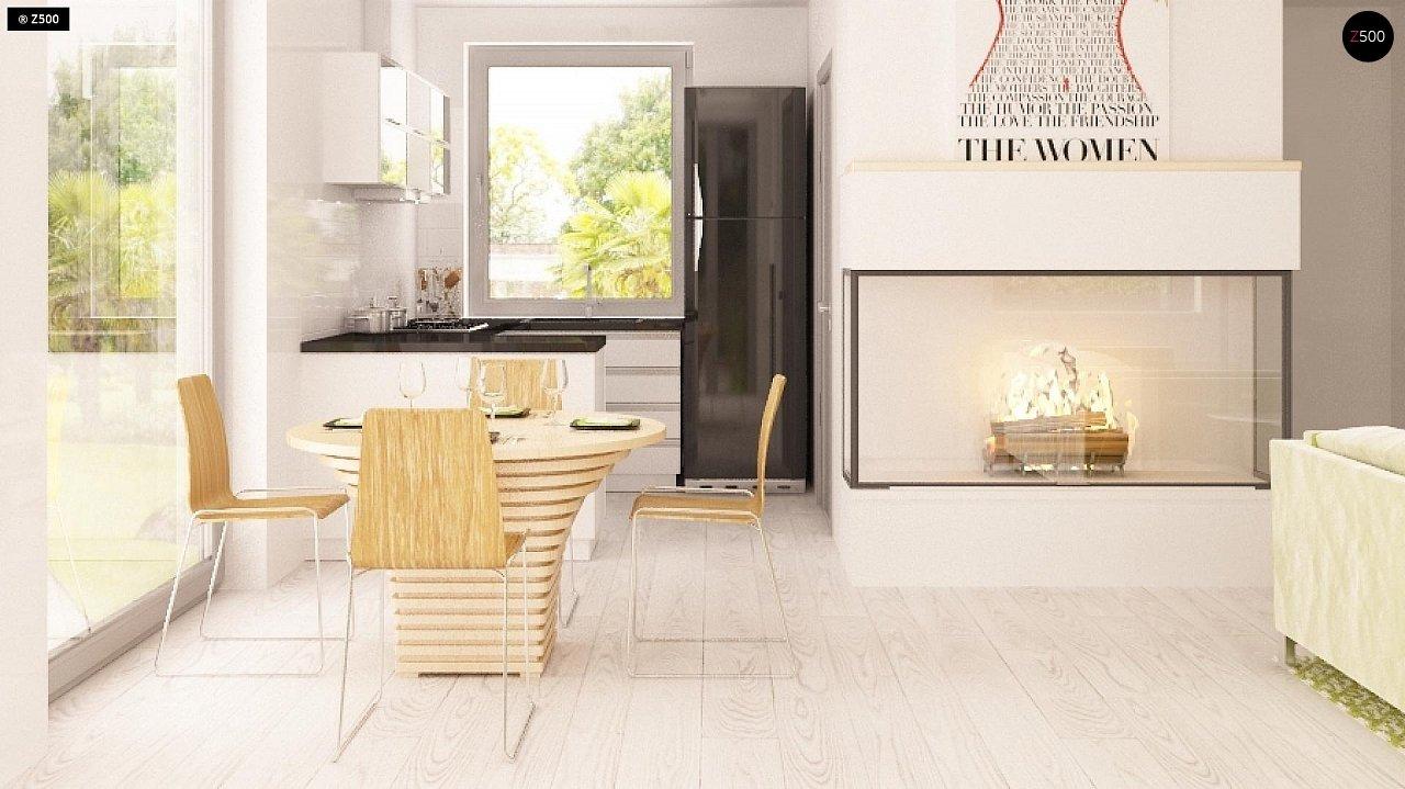 Традиционный практичный дом с современными элементами архитектуры. 6