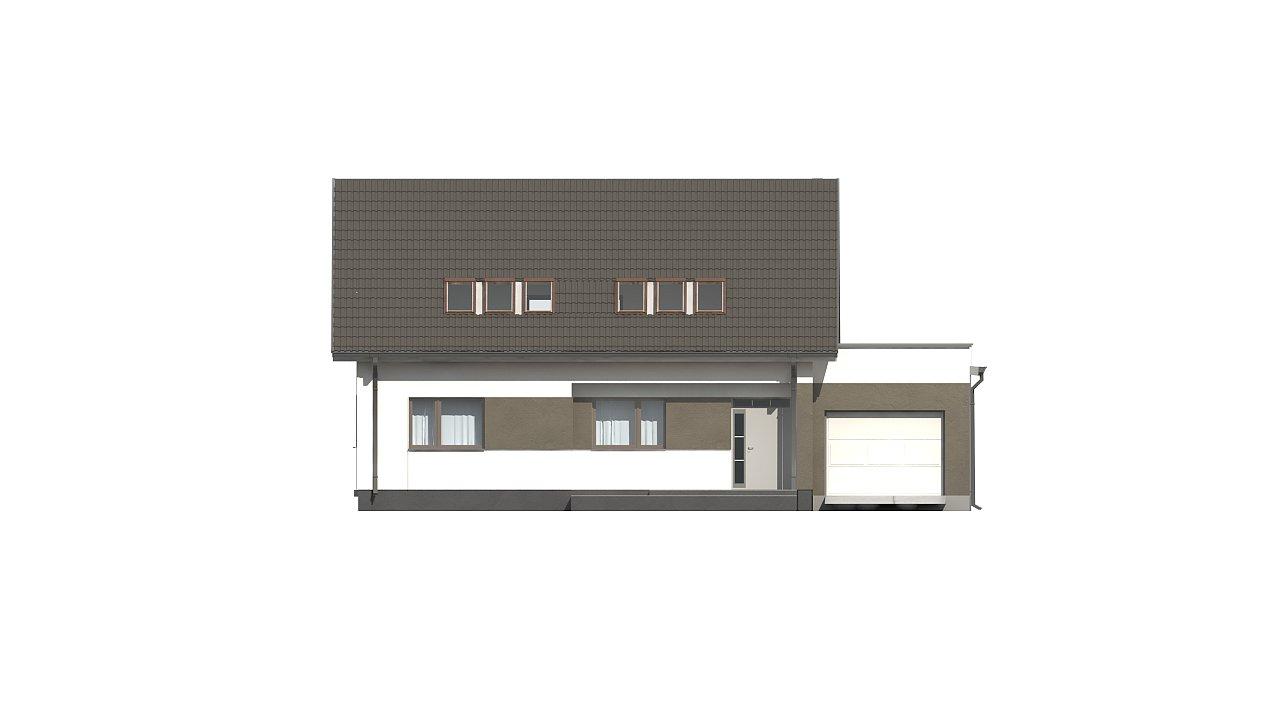 Комфортный дом с оригинальным остеклением в гостиной и вторым светом. - фото 7