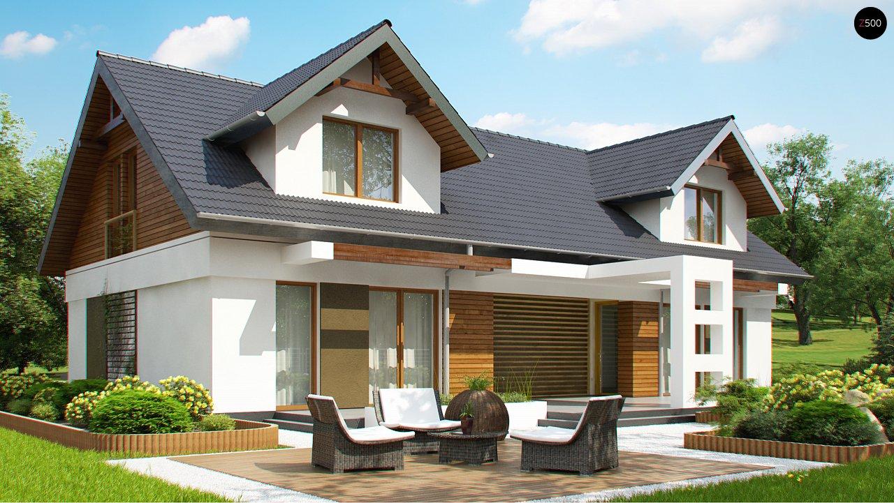 Практичный двухквартирный дом с общими входом и техническим помещением. 4