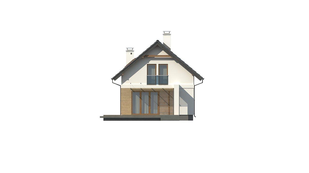 Аккуратный, практичный дом, также для узкого участка. 18