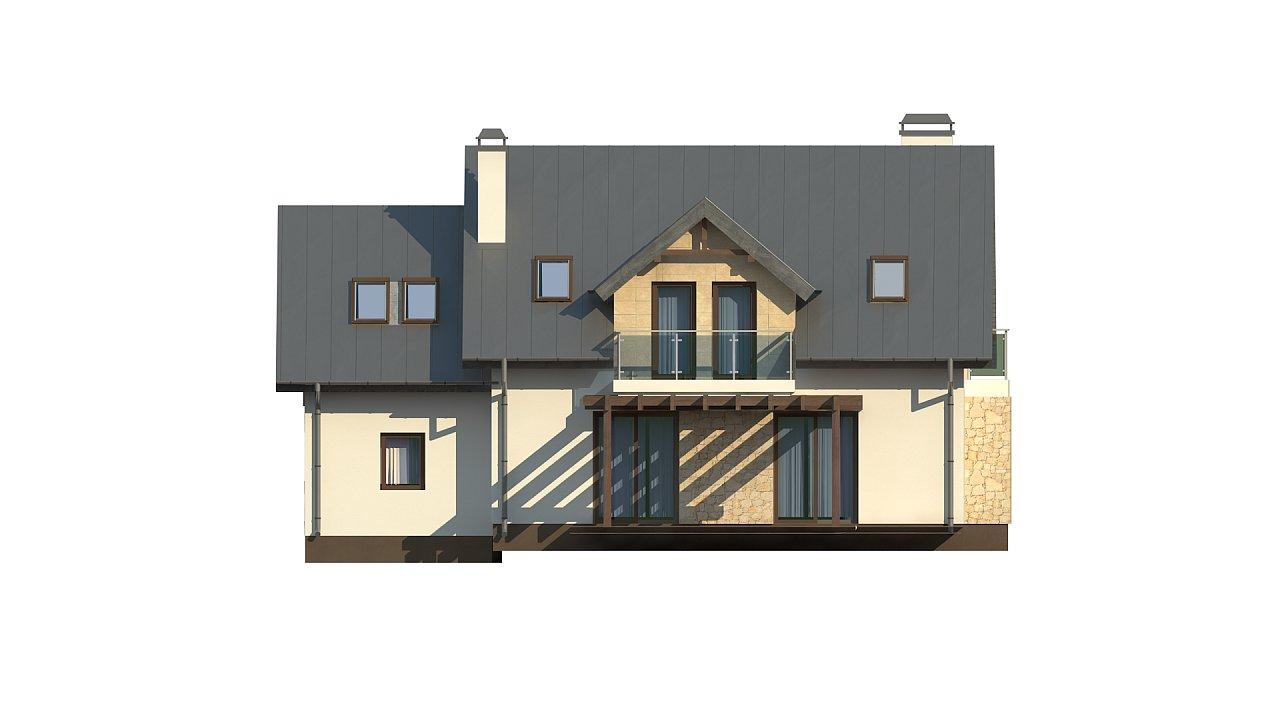 Стильный современный дом с пятью спальнями и гаражом. 17