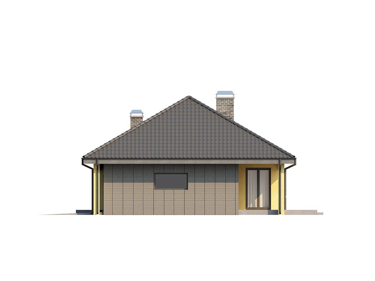 Одноэтажный дом традиционного характера с тремя удобными спальнями и встроенным гаражом. - фото 24