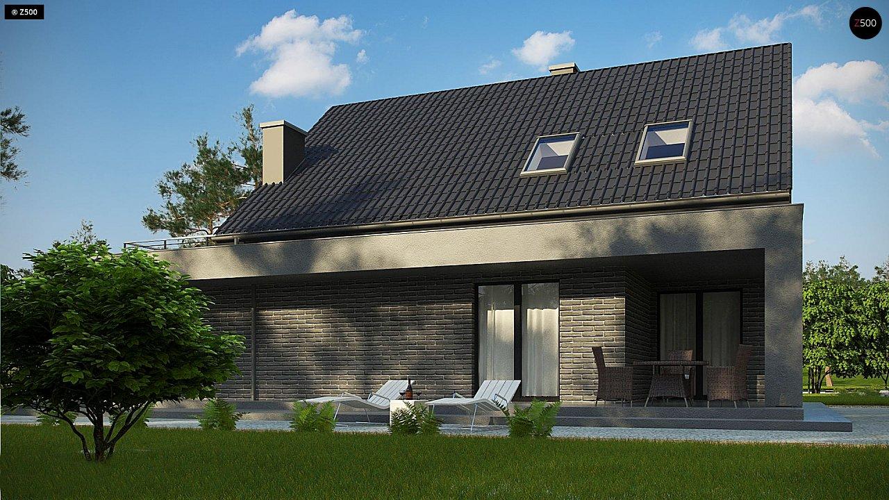 Проект комфортного дома в современном европейском стиле. 5